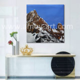 Qualitätsnowy-GebirgslandschaftsÖlgemälde für Wand-Dekoration
