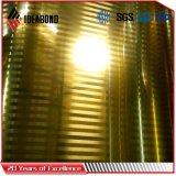 Bobine d'Aluminiuim enduite d'une première couche de peinture par balai d'or (AE-32B)