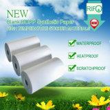 Etiquetas de material de PET transparente Adesivo Pet amovível