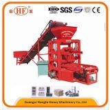 Máquina de fatura de tijolo de bloqueio manual India da maquinaria de construção da tecnologia nova