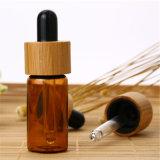 熱い販売の木の明確なガラス装飾的なタケふたの瓶