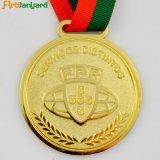 金張りの記念品メダルをカスタム設計しなさい