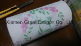 24 гигантских полотенца белой бумаги Выбирать--Размера Rolls с цветком (GD-KP001)