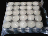 12g 100PCS 백색 Tealight는 Malysia 필리핀에 있는 최신 판매를 불빛에 비춰 조사한다