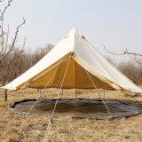 Im Freiensegeltuchteepee-mongolisches Rundzelt 2018 des Fabrik-heißer Verkaufs-3m 4m 5m