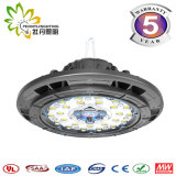 60/90 Grad-Objektiv 150lm/W UFO LED Highbay helles 60W, industrielle Beleuchtung UFO-LED, LED-Lager Highbay Licht