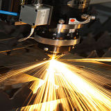 máquina de estaca do laser da fibra da placa de aço de carbono do aço 500With3000W inoxidável para a venda