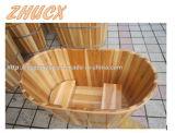 일반적인 나무로 되는 욕조 목욕 기구 목욕탕 가구