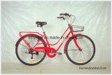 26inchオランダの自転車、浜の自転車、Shimano 6speedの都市バイク