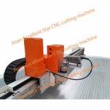 Máquina de estaca de alimentação da faca da vibração da estrela excelente auto para a tampa de roda 2516 da direção