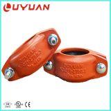Les colliers de flexible de 4 pouces avec UL/ Homologation FM pour système de lutte contre les incendies