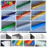 Colorear el material de publicidad auto-adhesivo de la etiqueta engomada del vinilo del trazador de gráficos del corte