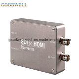 Doppio sistema Sdi dell'alimentazione elettrica al mini convertitore di HDMI