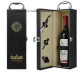 アクセサリが付いているカスタマイズされた新しい設計されていた贅沢な革ワインボックス