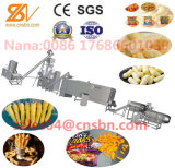 La norma Ce rizos maíz totalmente automática máquina de extrusión Naks Nik