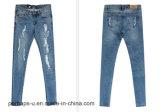 I jeans strappati modo delle donne di alta qualità dimagriscono i grandi pantaloni di formati