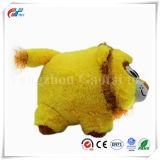 Heißes verkaufendes nettes runde Form-tierisches weiches Löwe-Spielzeug
