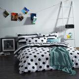 ホーム織物の白黒綿によって印刷される寝具の製品