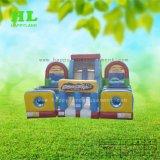 Trasparenza gonfiabile di Funcity di tema di gioco del calcio e castello rimbalzante del Bouncer per i capretti