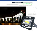LEDの洪水ライト30W 50W 100W穂軸の外部のスポットライトIP65 LEDの屋外のわずかなシミのフラッドライトのアルミニウム庭ランプ110V/220V