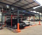 Parcheggio astuto verticale automatico dell'elevatore idraulico del sistema dell'impilatore dell'automobile