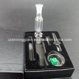 De MiniPijp van uitstekende kwaliteit van het Glas van de Uitrusting van de Collector van de Nectar voor het Roken