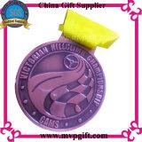 スポーツメダルギフトのためのカスタマイズされた金属メダル