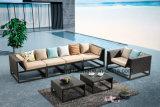 New Hotel Deisgn Pátio Mobília de jardim Living Sofa Set com cadeira de clube (YT545)