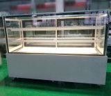 日本のパン屋の表示店のためのインポートされた圧縮機が付いているガラスドアのキャビネット