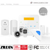 LCD GMS Home Security System with Wi-Fi IP Function Camera
