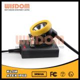 Buon indicatore luminoso del casco per minatore di prezzi LED del fornitore, faro estraente Kl5m