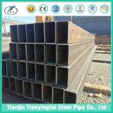 Tubo saldato il nero & tubo quadrati del acciaio al carbonio della l$signora & rettangolari Cina