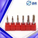 Механические инструменты торцевой фрезы карбида каннелюры D1mm-D25mm 2/3/4 твердые с SGS