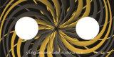 Vetro Tempered calcinato colore termoresistente per la parte superiore della stufa di gas