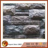 Preço mais baixo Black Slate Culture Stone para revestimento de parede