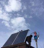 sistema híbrido de painel 300W-2kw solar e de turbina de vento