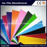 자동 접착 방수 PVC 필름 다채로운 차 비닐 스티커 공기 자유로운 거품 비닐 차 포장 필름