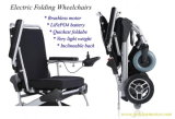"10 "" E-Throne Folding Lightweight Mobility Aid Power Brushless Electric Wheelchair, Lithium Battery를 가진 Mobility Scooter"