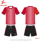 Helaong Custom Fashion Style talk and Black Color team Wear Soccer set