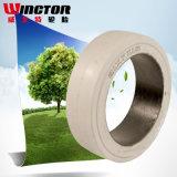 15 1/2*6*10 Pressionar-no pneu contínuo, pneu contínuo do coxim do pneu do Forklift