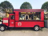 De nieuwe Vrachtwagen van het Voedsel van de Kar van het Snelle Voedsel van het Type Mobiele voor Verkoop Europa