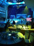 Stern-Vorhang 4X5m Bw-LED für Partei-Hochzeits-Hintergründe
