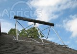 Calidad certificada bajo presión calentador de agua solar Internationaly