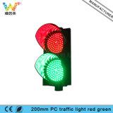 LEDの製造業者200mmのパソコンの赤い緑の交通信号ライト