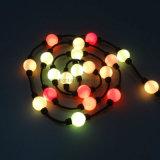 360度高い明るさRGB LEDのクリスマスの球ストリングライト
