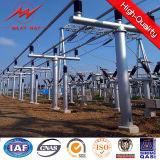 estrutura de apoio de aço da transmissão de potência 115kv