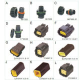 Connecteur automatique de contact de câble de lumière d'arrière de lampe d'éclairage