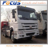 최고 상표 Sinotruck 6X4 Euroii 토우 트랙터, 트랙터 트럭, 원동기