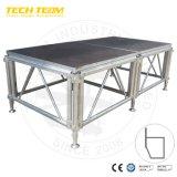 Concert en plein air assembler l'étape de l'aluminium plate-forme mobile