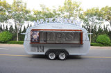 De de de mobiele Aanhangwagen/Vrachtwagen/Bestelwagen van de Verkoop van het Snelle Voedsel